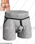 特价*钢环系列男内裤双带裸臀型*3248*