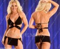 裹胸、多衩超短裙礼服*2852*