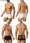 透视与不透视结合设计男平角内裤*3306*
